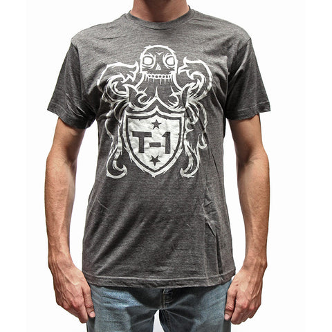 Terrible One Crest T-Shirt - Charcoal