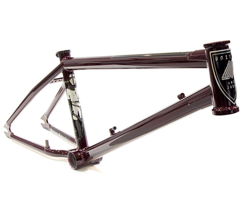 United Knightsbridge frame merlot red angle back bone bmx