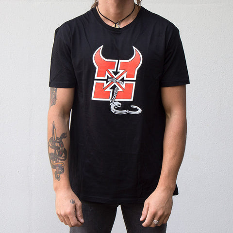 Fit Devil T-Shirt (Van Homan Signature) - Back Bone BMX Shop Australia