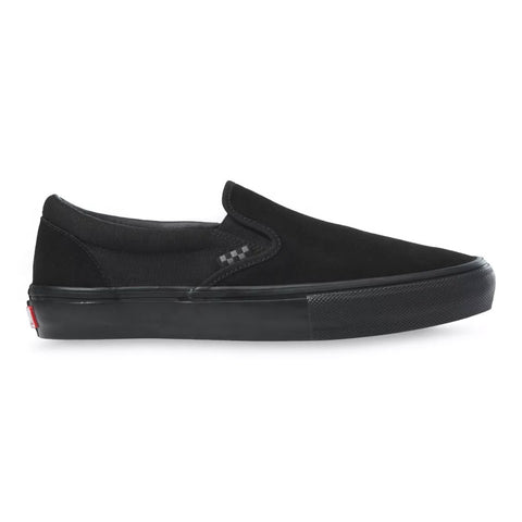 Vans Skate Slip On Shoes - Black/Black