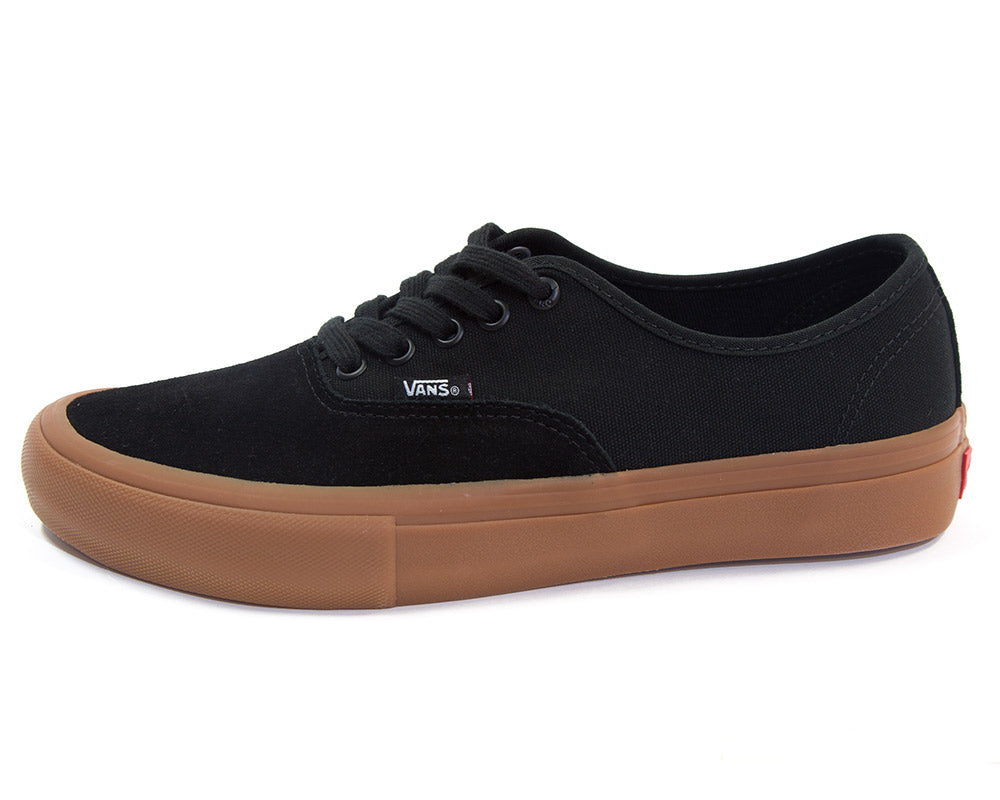 8afe243131 Vans Authentic Pro Shoes Black Gum