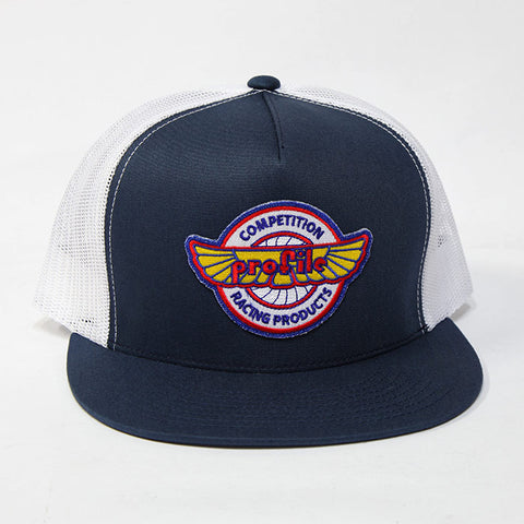 Profile Vintage Logo Trucker Hat