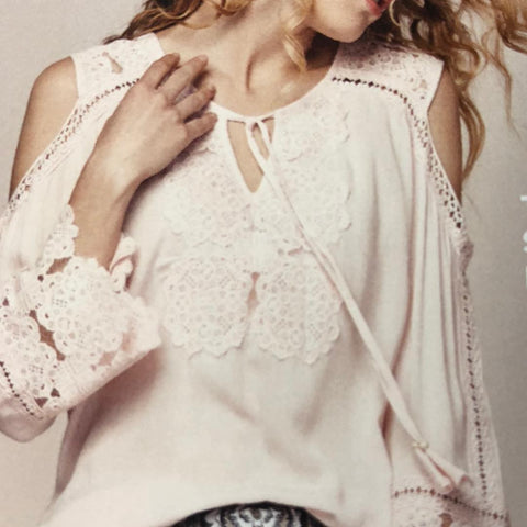 Perfect Hue Pink Lace Top