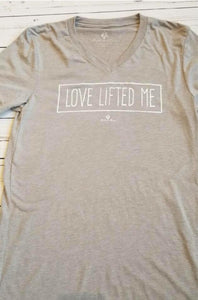 New Bell and May Tees - Love Lifted Me