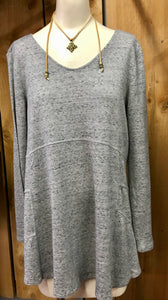 Grey Swing Knit