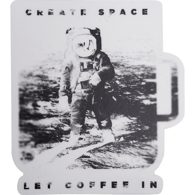 Typeface Coffee Roasters - Create Space Sticker