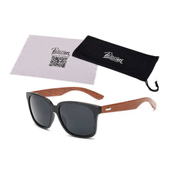 Rays Designer Wooden Frame Sunglasses - Noneend Outlet