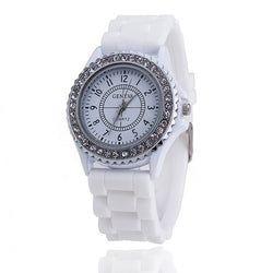 Hot Silicone GENEVA Watch - Noneend Outlet