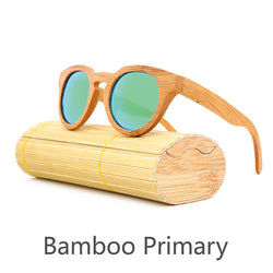 Wood retro fashion polarized sunglasses - Noneend Outlet