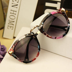 Round Retro Sun Glasses - Noneend Outlet
