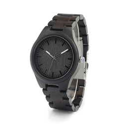 Dark bamboo Watch - Noneend Outlet