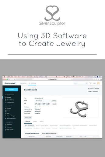 Using 3D Software to Create Jewelry