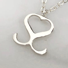 Silver Sculptor Necklace