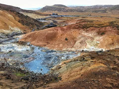 Geothermal Mud Pools in the Reykjanes Peninsula