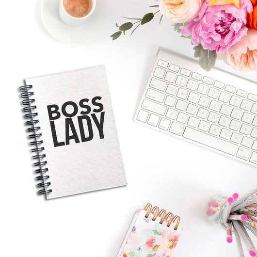 Boss Lady Notebook | Silver Sculptor