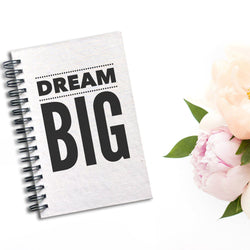 Dream Big Notebook | Silver Sculptor