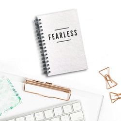 Fearless Notebook | Silver Sculptor