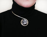 Dendritic Opal Choker Neck Piece