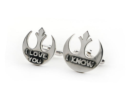 Star Wars Cufflinks | Silver Sculptor