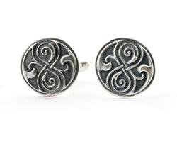 Celtic Knot Cufflinks | Silver Sculptor