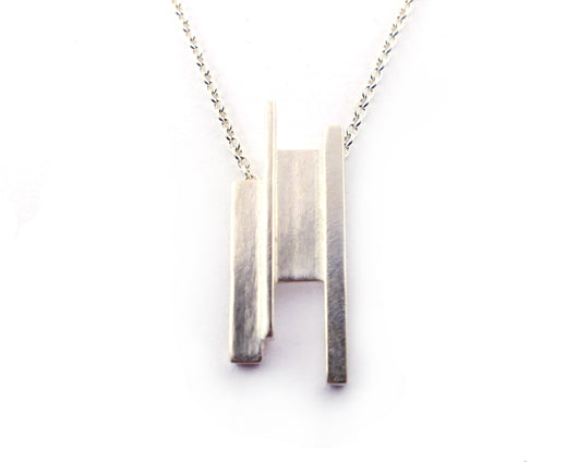 Sterling Silver Everyday Necklace | Silver Sculptor