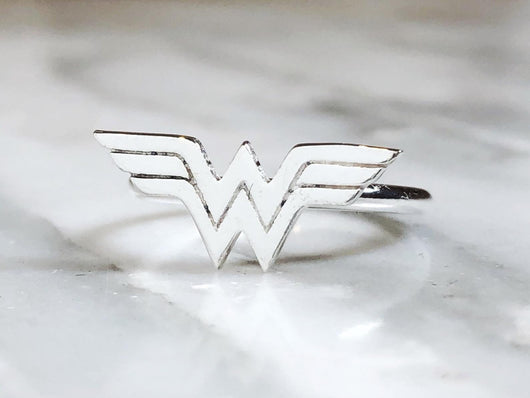 Sterling Silver Wonder Woman Ring | Silver Sculptor