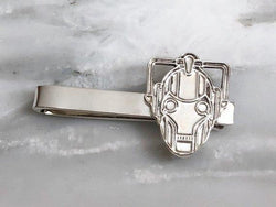 Cyberman Tie Bar | Silver Sculptor
