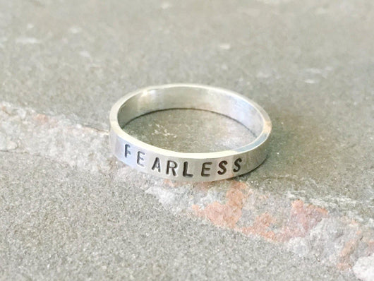Fearless Meditation Ring | Silver Sculptor