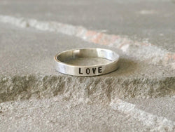 Love Stacking Ring | Silver Sculptor