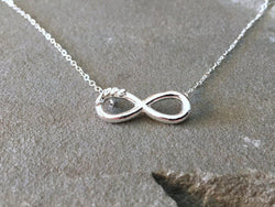 Love Infinity Necklace | Silver Sculptor
