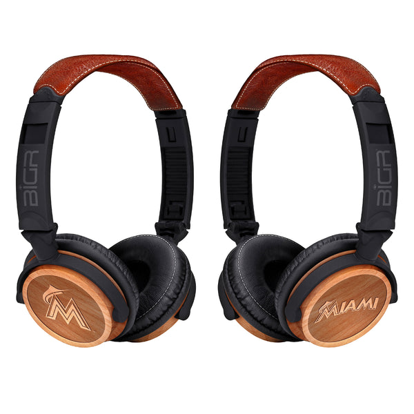 Miami Marlins Custom Headphones