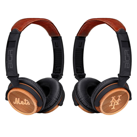 New York Mets Custom Headphones