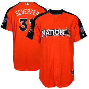 premium selection 4248c b0117 Max Scherzer Autographed 2017 All-Star Game Jersey