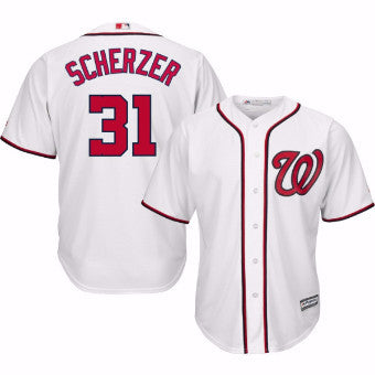 new arrival 7f56f 64bbf Max Scherzer Autographed Jersey