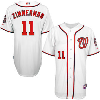Ryan Zimmerman Autographed Jersey