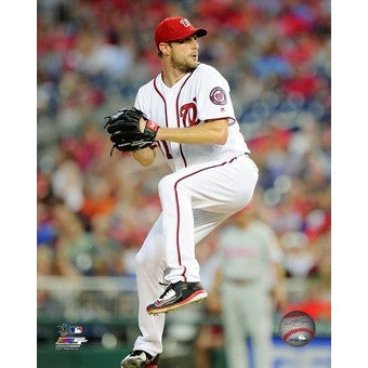 Max Scherzer Autographed Photo