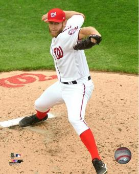 Stephen Strasburg Autographed Photo