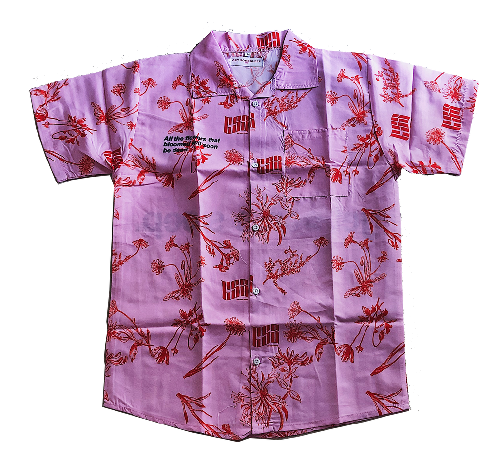 Blooming Flowers Button up - Pink [PREORDER]