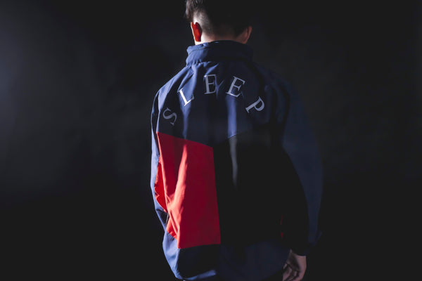 Alternating Tricolor Anorak II