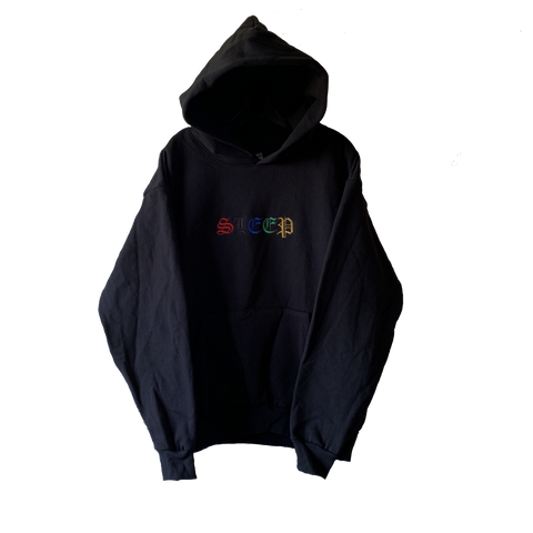 Embroidered Heavy Sleep Hoodie