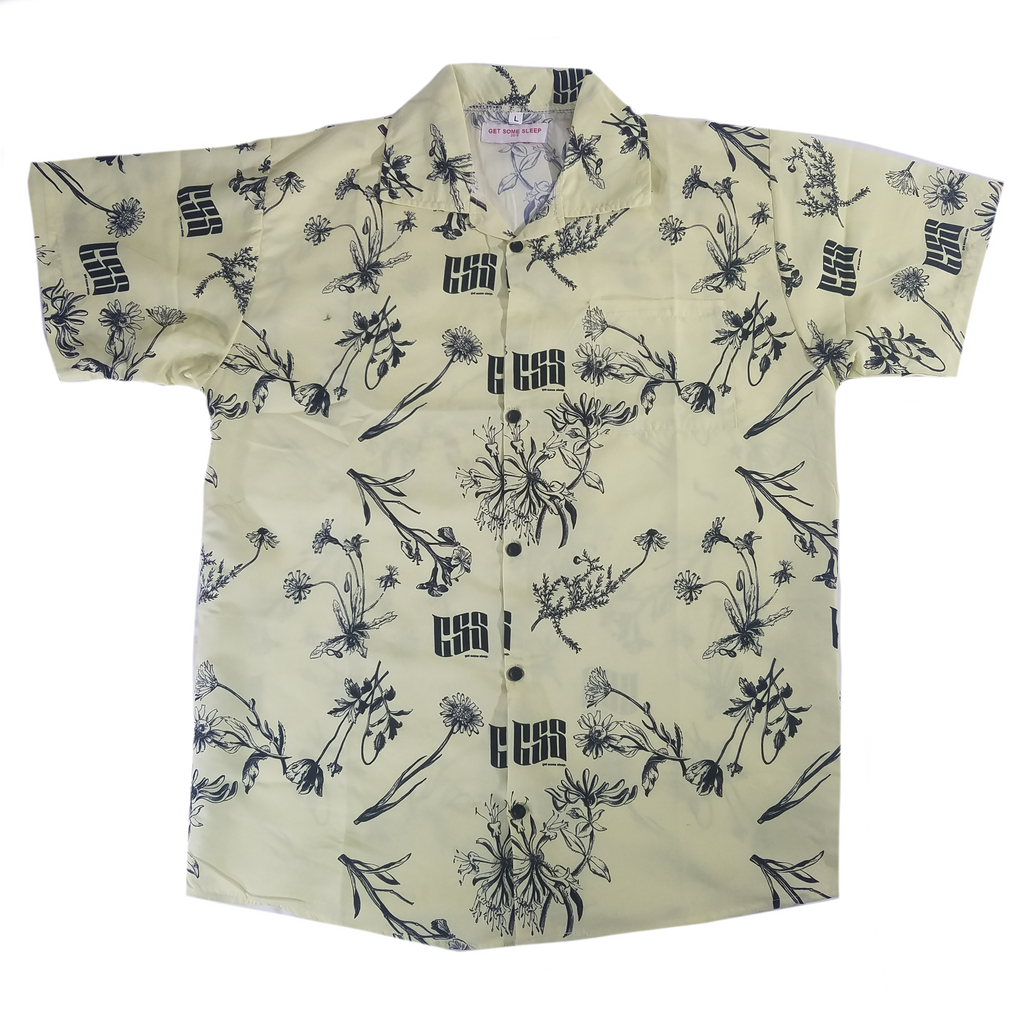 GSS Button Up - Cream