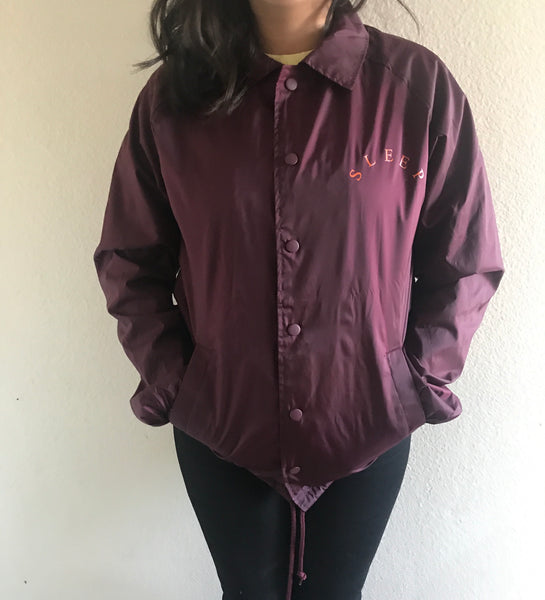 Sleep Forever Coach Jacket