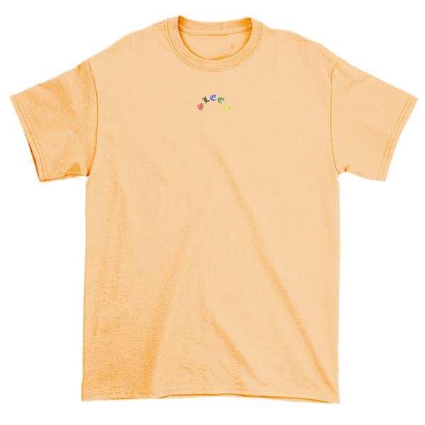 Tan MicroLogo Shirt