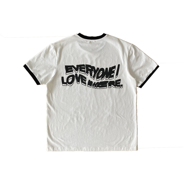 Everyone I Love Is Here Ringer Tee [PRE-ORDER]