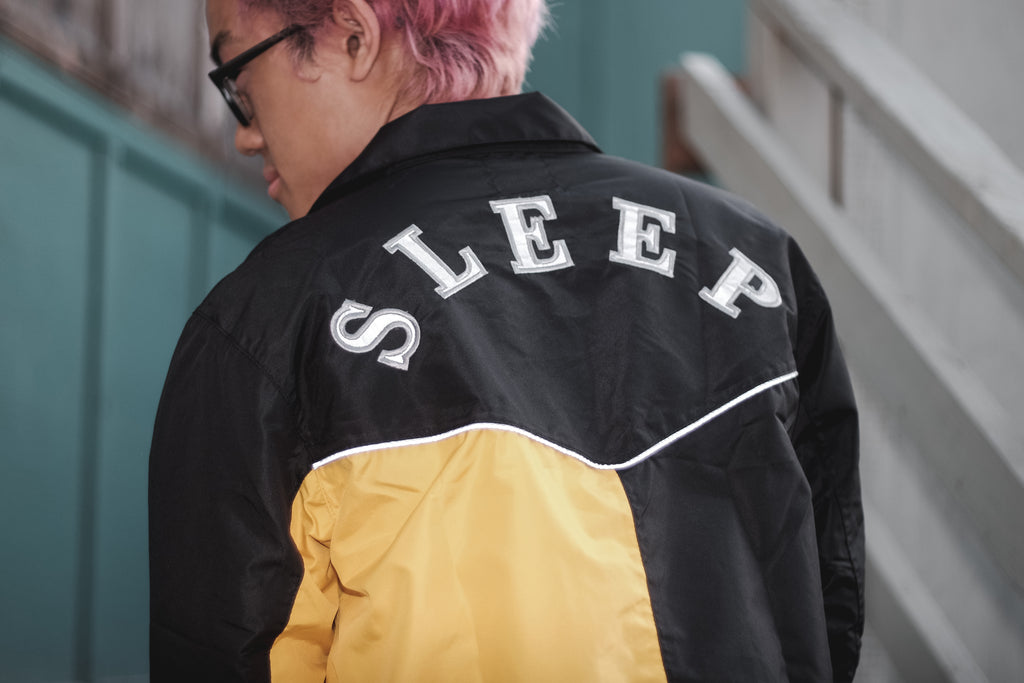 Sleep Asym Windbreaker