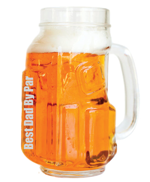 Golf Beer Mugs for Dad (4 Pack)