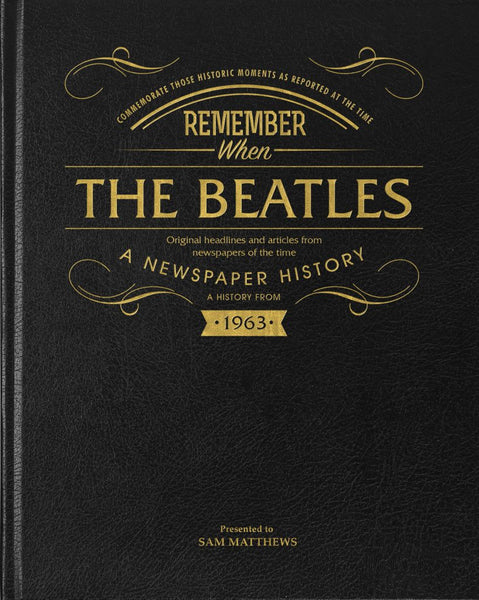 Beatles Historic Newspaper Book