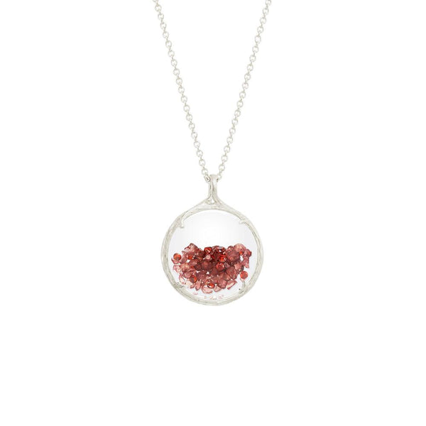 Dainty Hawaiian Birthstone Shaker Necklace