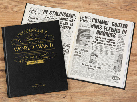75th Anniversary World War 2 Pictorial Newspaper Book