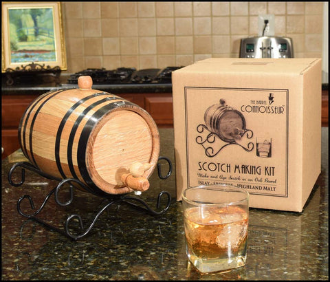 Scotch Whiskey Making Kit with Barrel